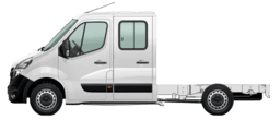 Movano Chassis Cabine Dupla