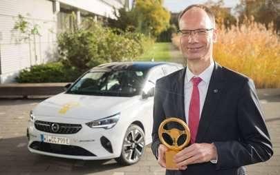 """Opel Corsa-e conquista """"Volante de Ouro 2020"""""""