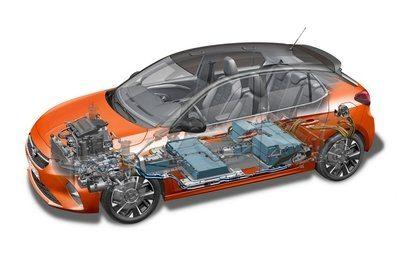 Opel Corsa-e: aquecimento e arrefecimento com comando à distância