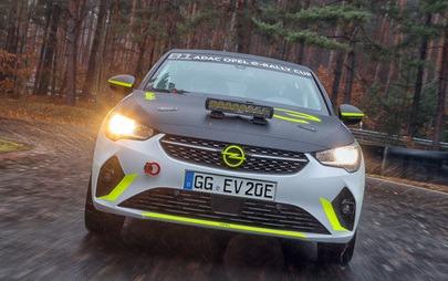 Opel já desenvolve o Corsa elétrico para ralis