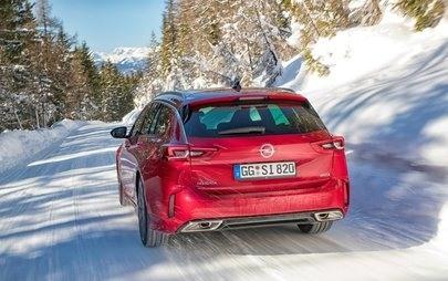 Novo Opel Insignia GSi com avançado sistema de tração integral