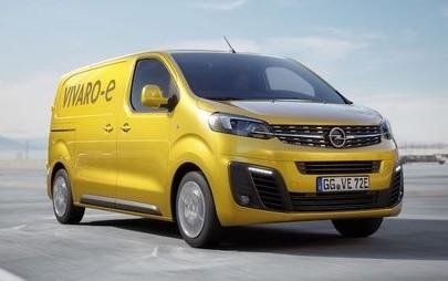 """Novo Opel Vivaro-e: """"E"""" para entregas sem emissões"""